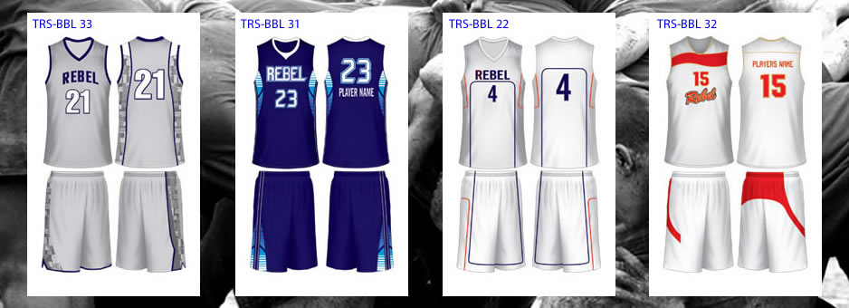 Team Rebel Sports Australia - Basketball Regular Uniforms